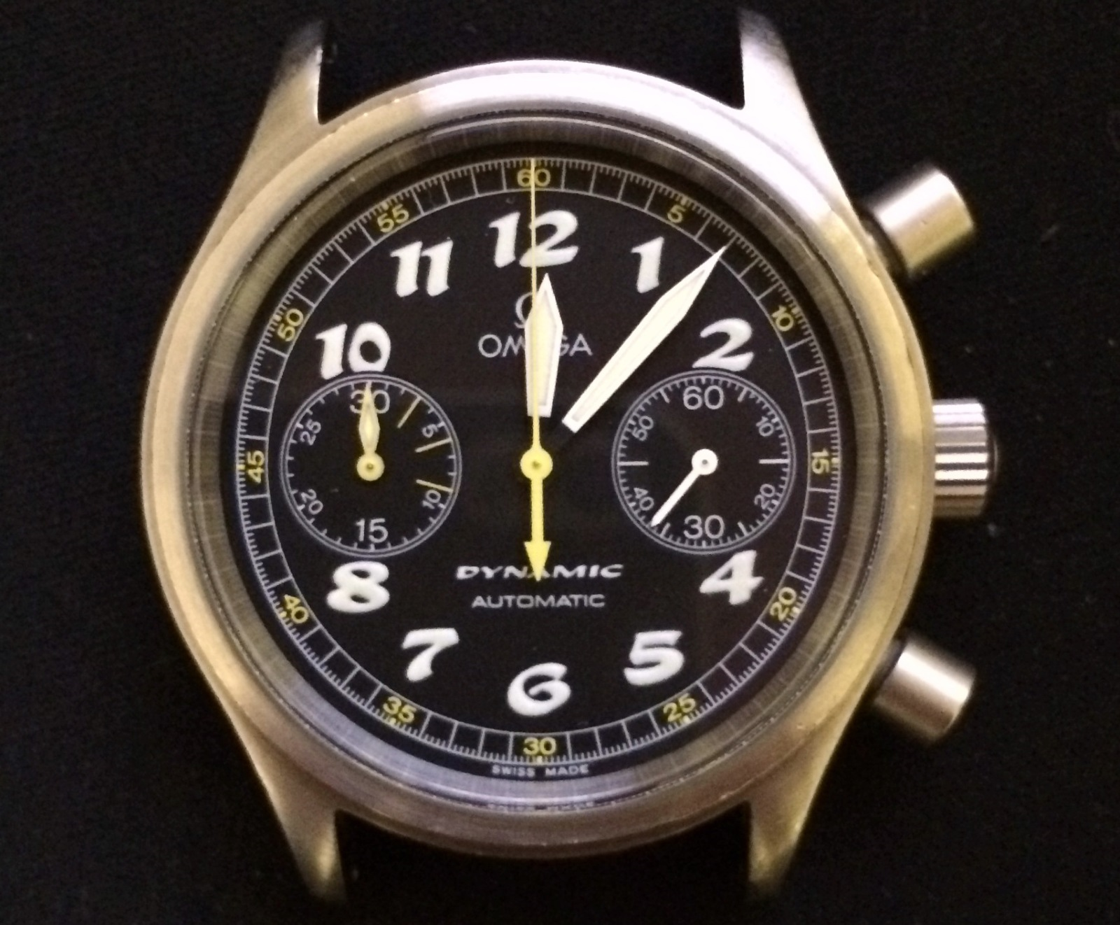 Omega Dynamic Chronograph Werk voll Service (Calibre1132)